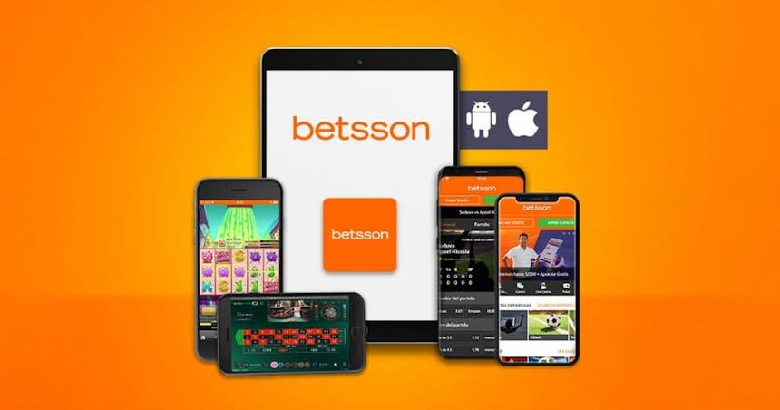 Aplicacion movil de Betsson