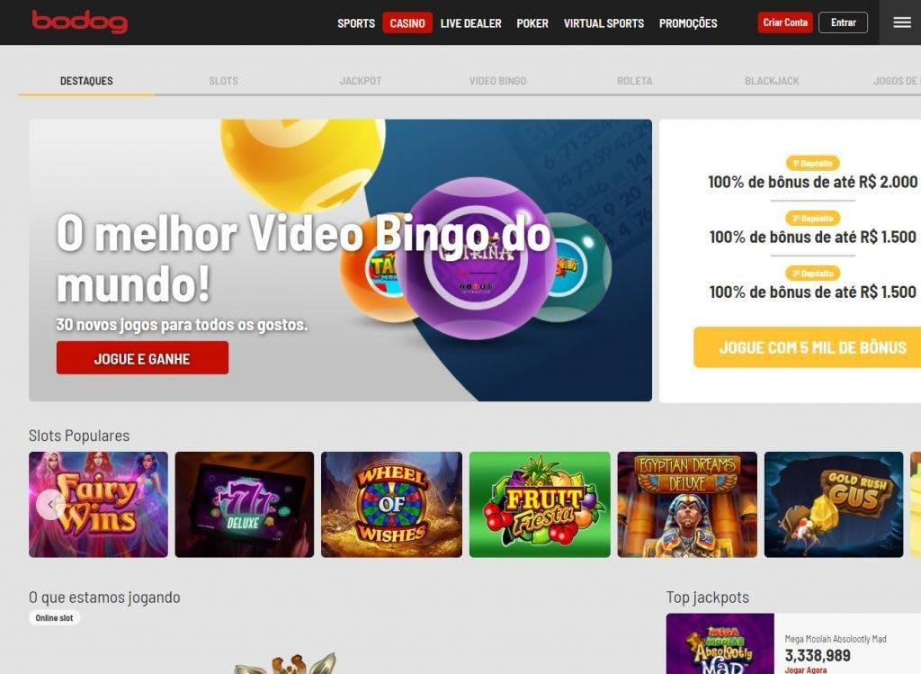 Juegos de casino de Bodog
