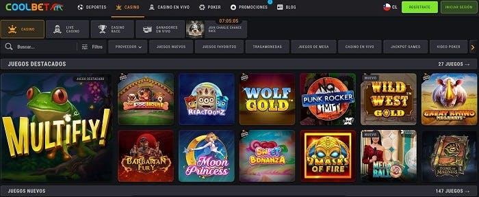 Juegos de casino de Coolbet