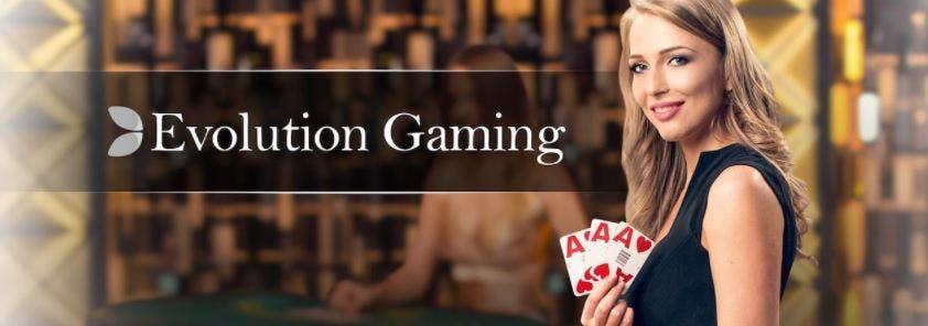 Evolution gaming live casino en vivo