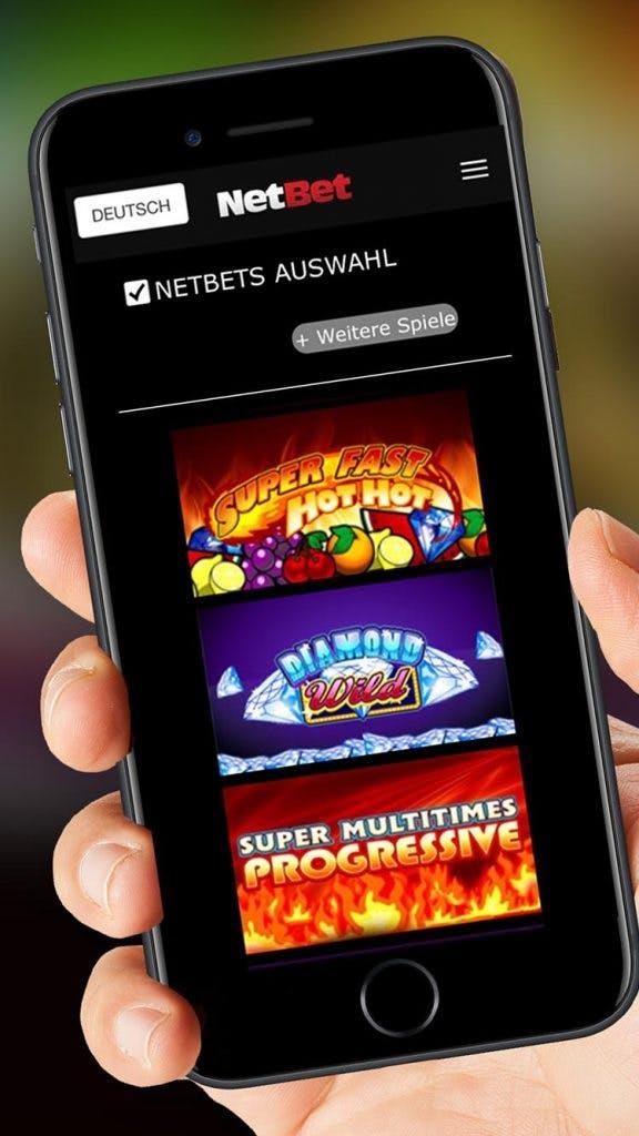 Aplicacion movil de Netbet