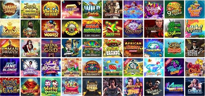 Juegos de casino de RubyFortune
