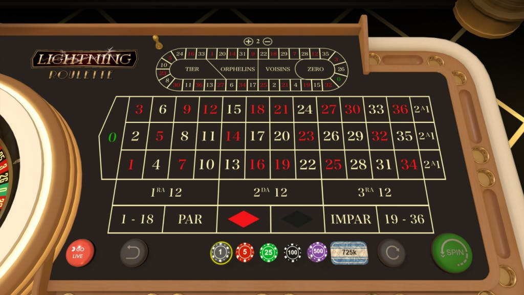 Ruleta en Playzee casino