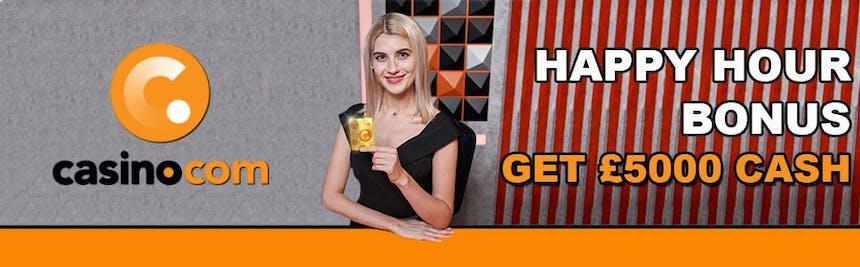 Happyhour de Casino.com
