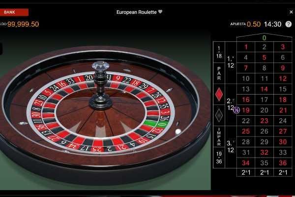 Ruleta en PlatinumPlay casino