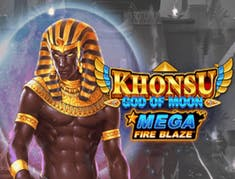 Khonsu God of Moon Mega Fire Blaze logo