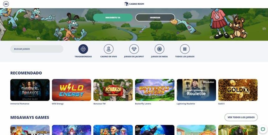 juegos de slot online en CasinoRoom