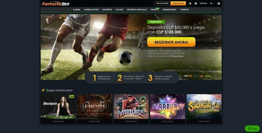 juegos de slot online en FantasticBet