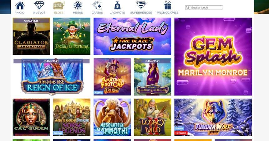 Juegos de casino de Europa Casino