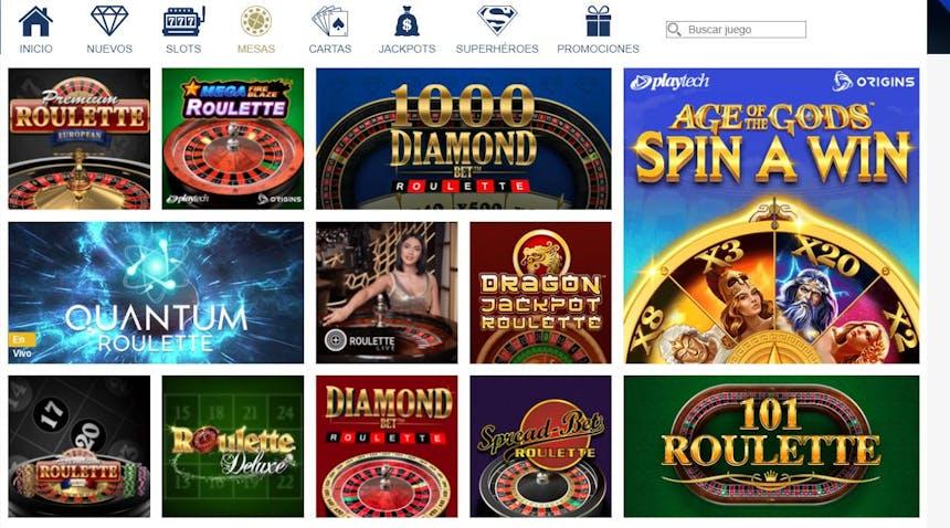 Ruleta en Europa Casino