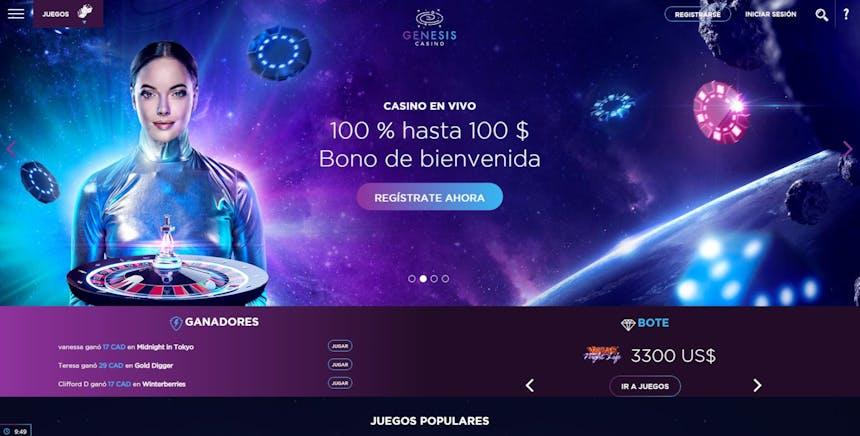 Genesis Casino bonos